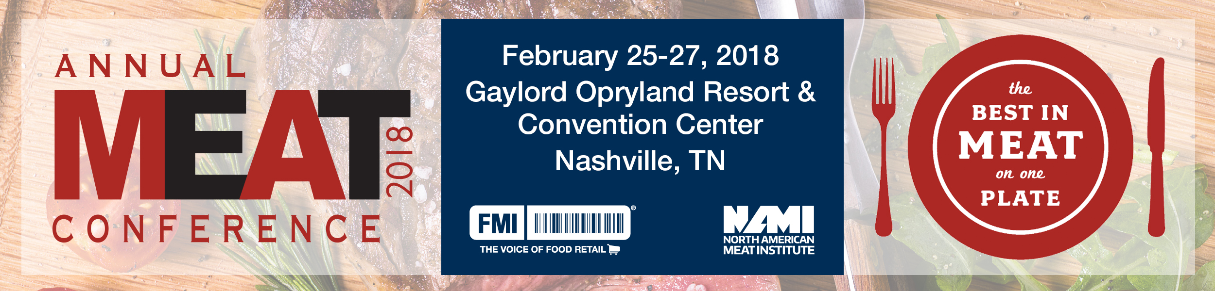 Meat Conference 2017 Banner